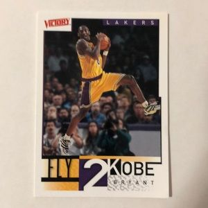 Official Kobe Bryant basketball collectors card